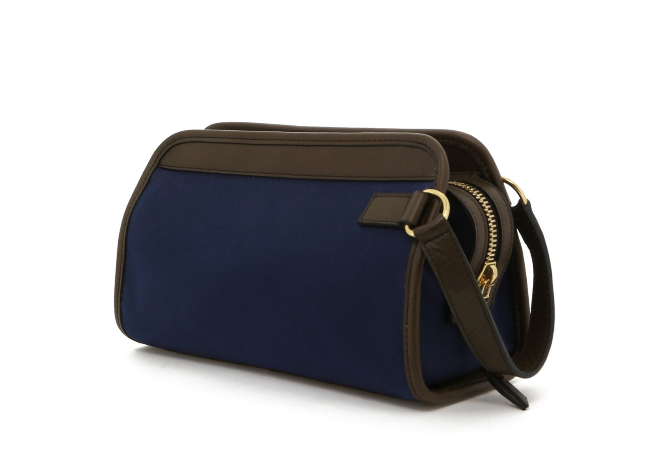 Blue Twill Travel Kit C