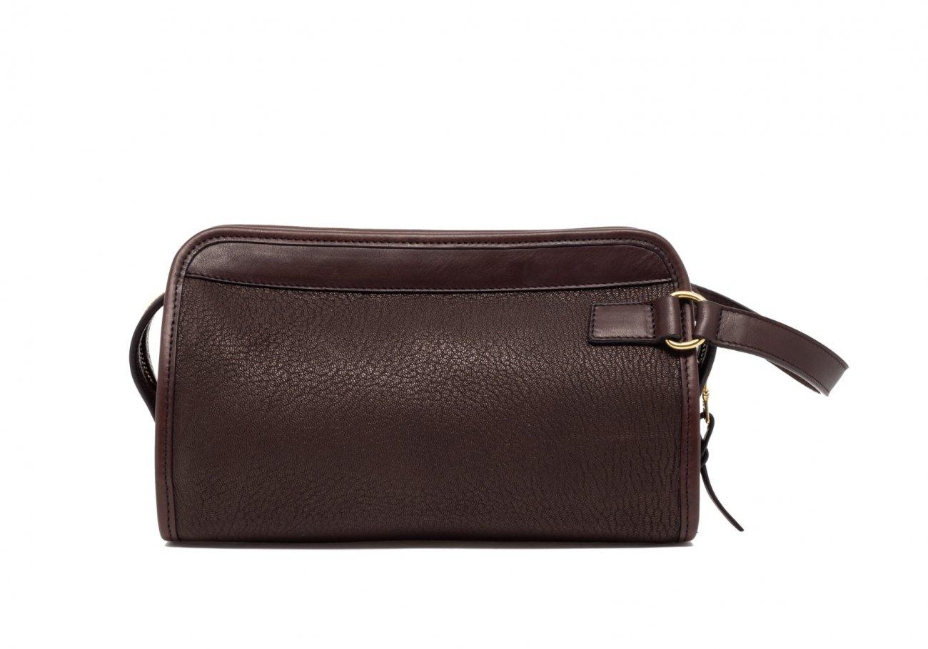 Brown Che Vre Goatskin Travel Kit Small7