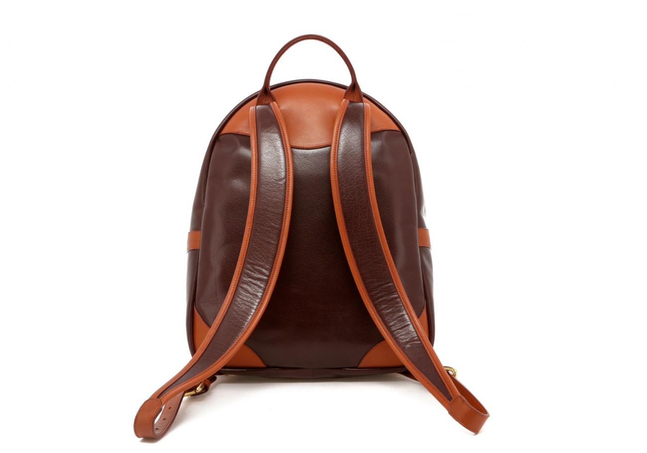 Brown Goatskin Hampton Backpack E