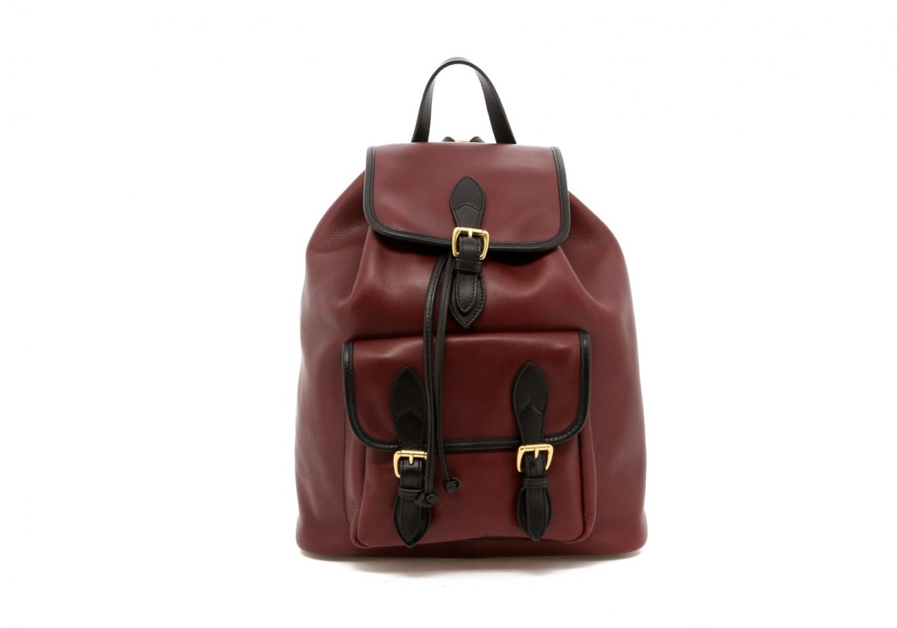 Burgundy Classic Backpack B