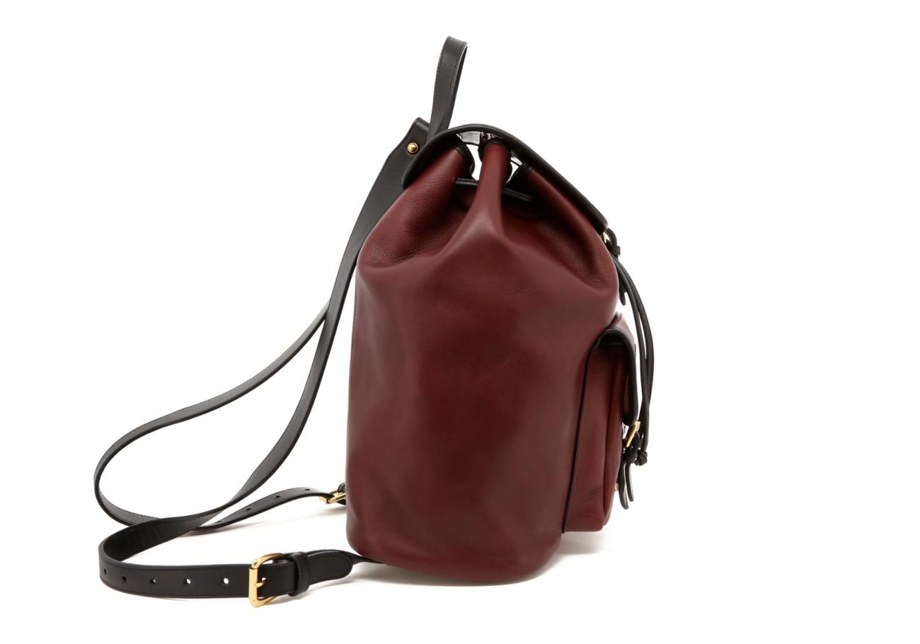 Burgundy Classic Backpack D