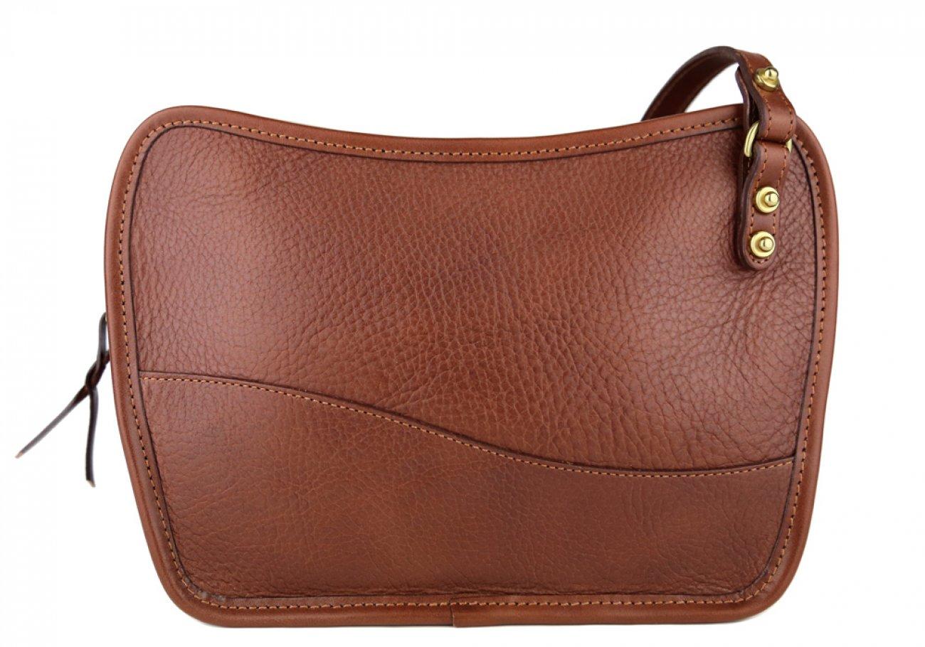 Chestnut Lilly Shoulder Bag Frank Clegg Made In Usa 1 1