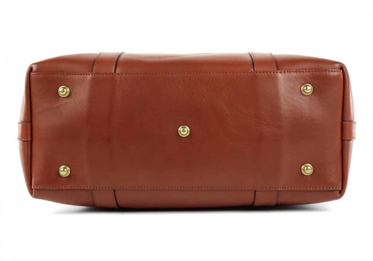 Chestnut Zipper Tote Bag 7