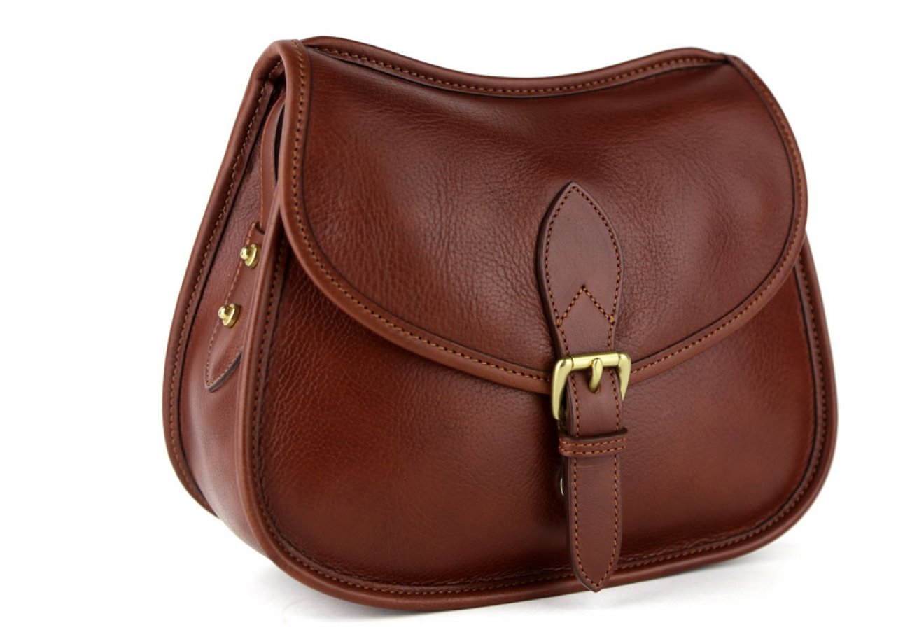 Chestnut Abby Shoulder Bag Frank Clegg Made In Usa 2