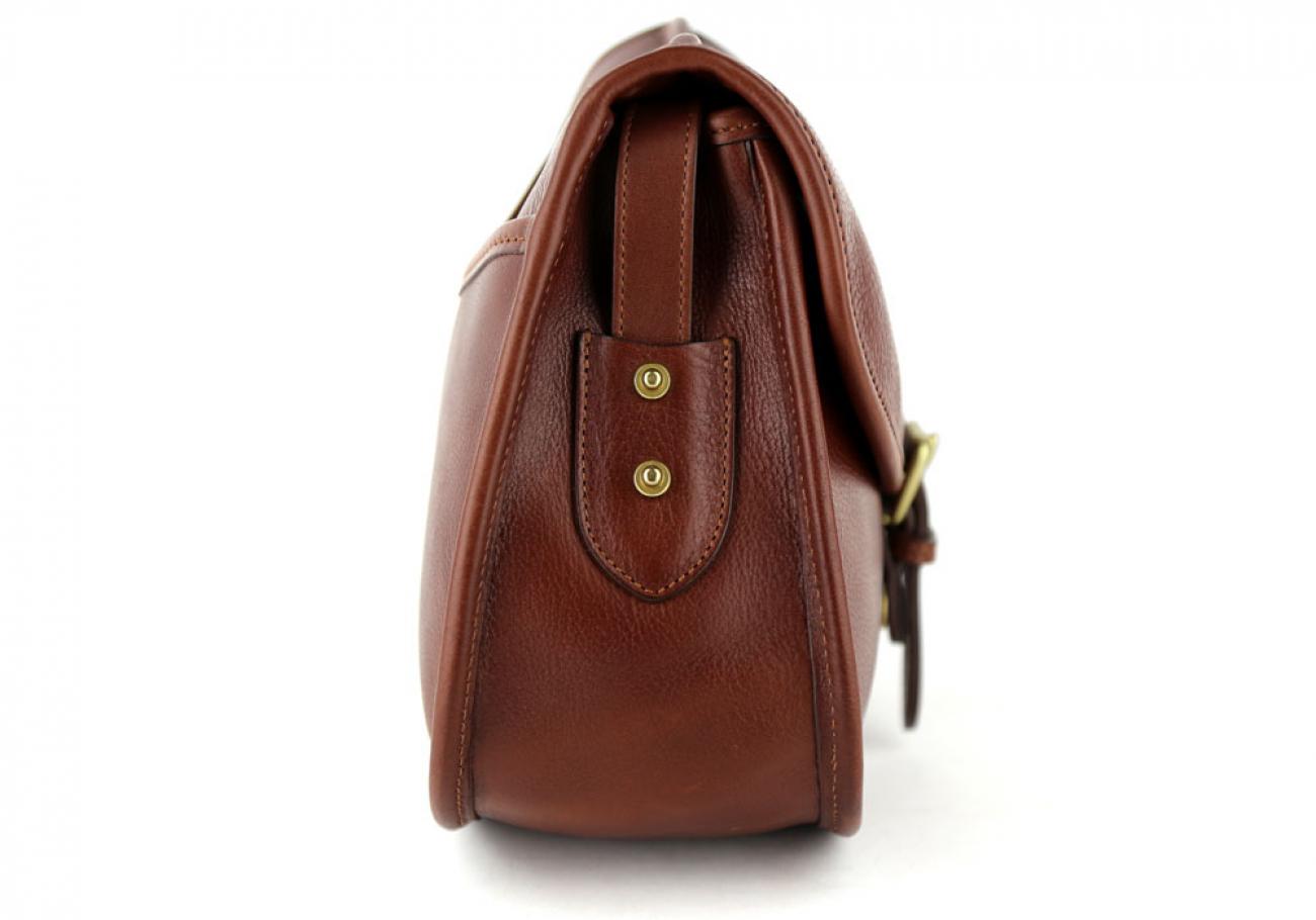 Chestnut Abby Shoulder Bag Frank Clegg Made In Usa 4