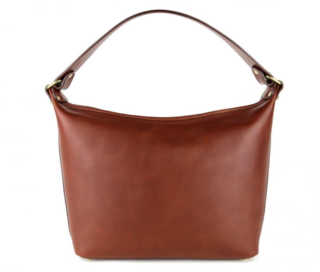 Chestnut Daisy Shoulder Bag Frank Clegg Made In Usa 1