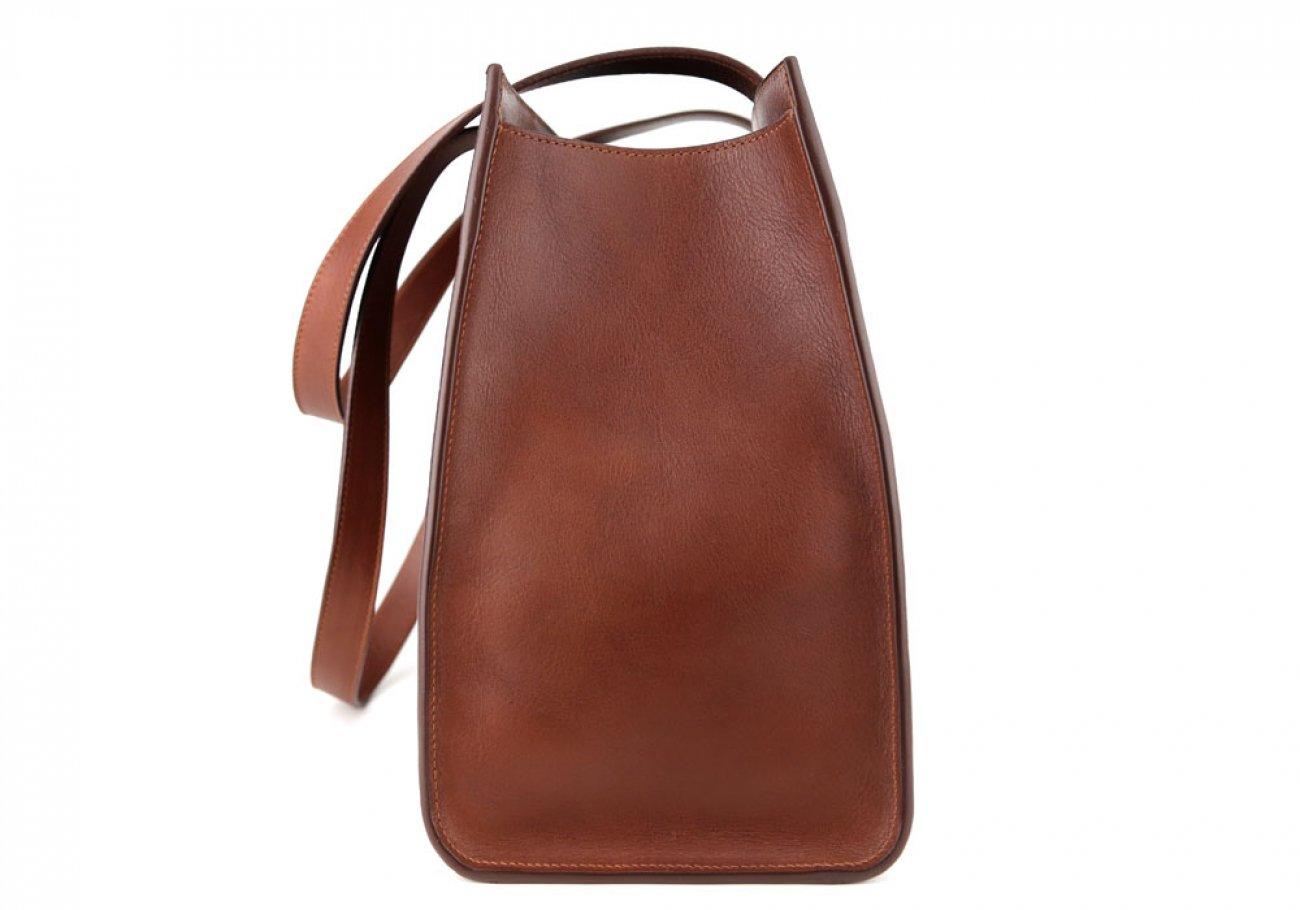Chestnut Elle Tote Bag Frank Clegg Made In Usa 3