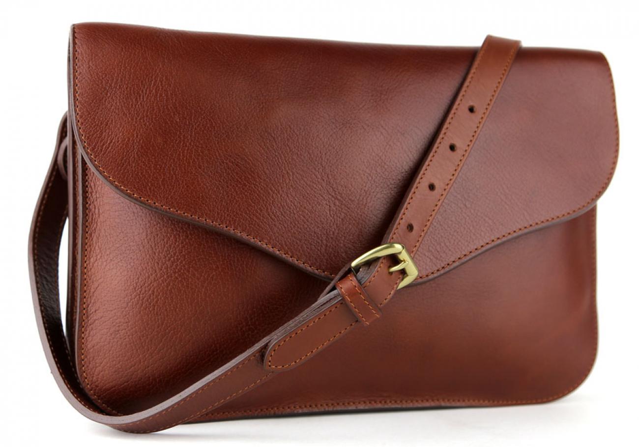 Chestnut Maddie Shoulder Bag Frank Clegg Made In Usa 2