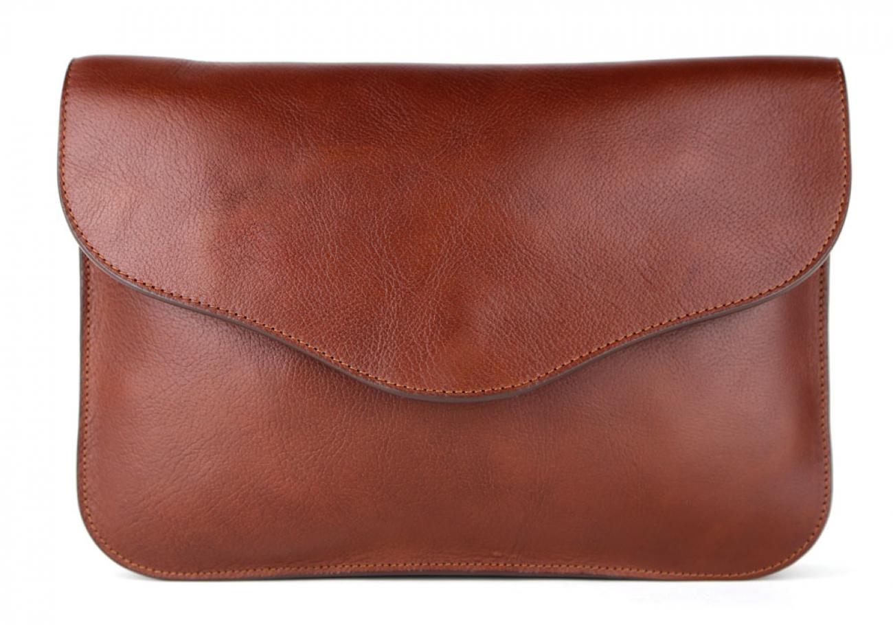 Chestnut Maddie Shoulder Bag Frank Clegg Made In Usa 3