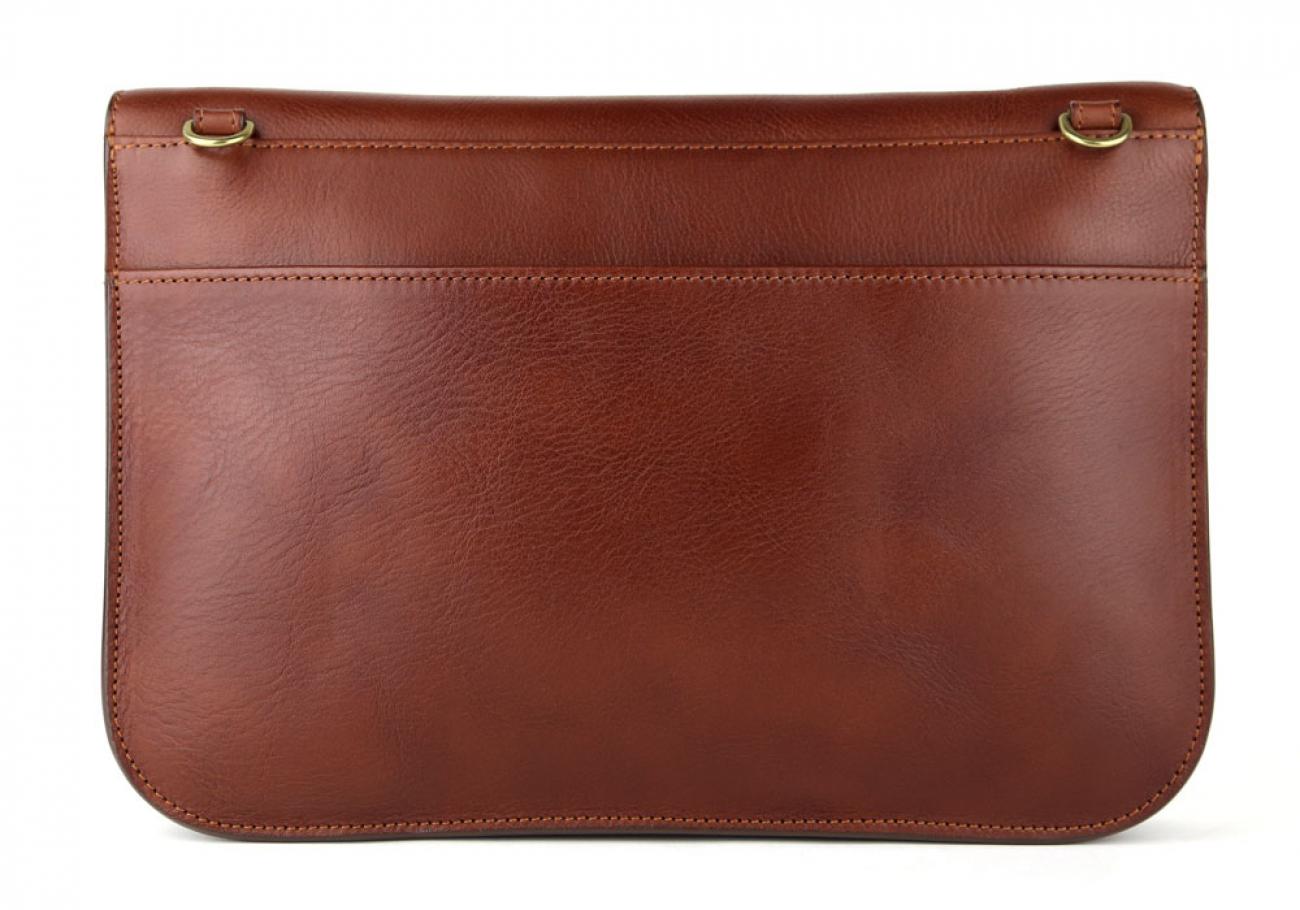 Chestnut Maddie Shoulder Bag Frank Clegg Made In Usa 6