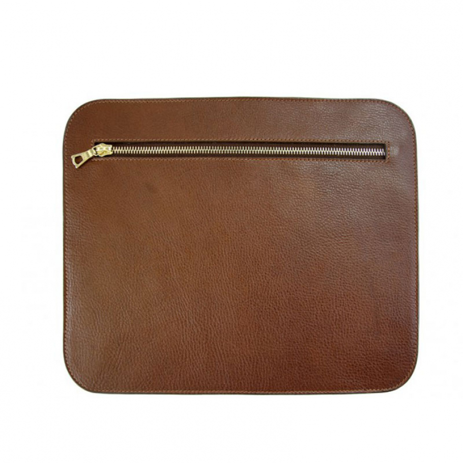 Chestnut Pencilcase Clutches Large1