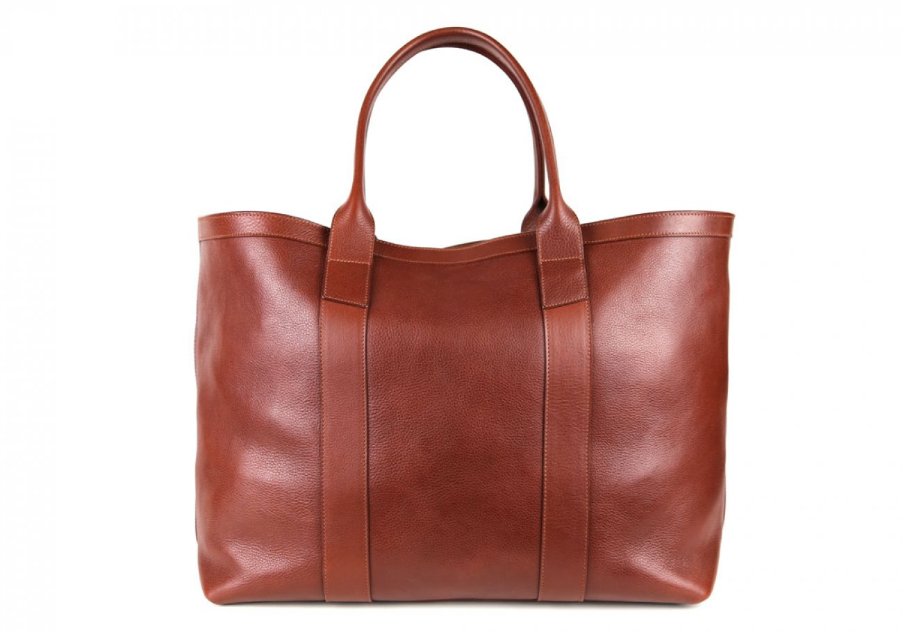 Chestnut Signature Working Tote Made In Usa Frank Clegg 1