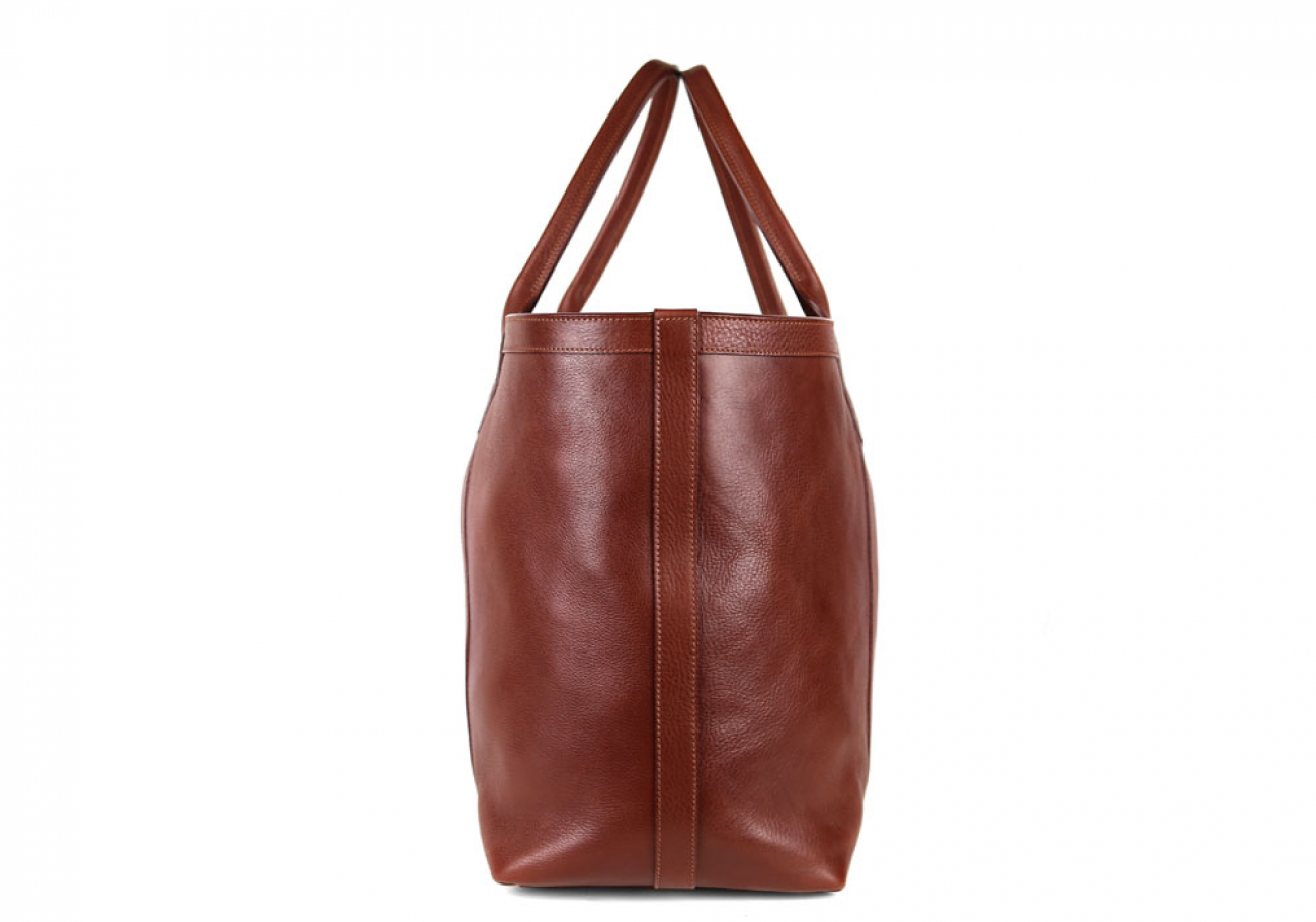 Chestnut Signature Working Tote Made In Usa Frank Clegg 3 1
