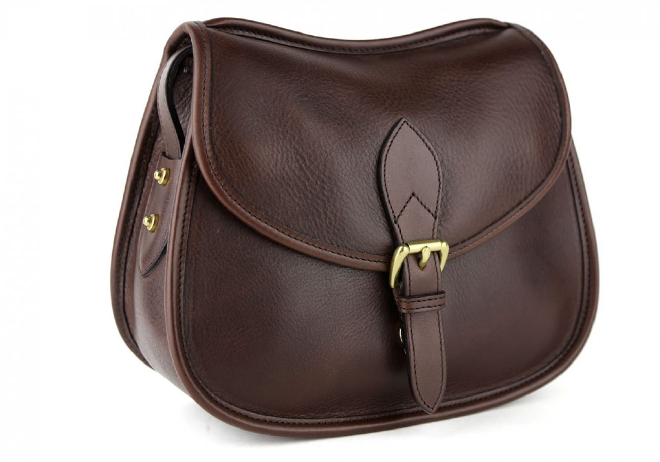 Chocolate Abby Shoulder Bag Frank Clegg Made In Usa 2