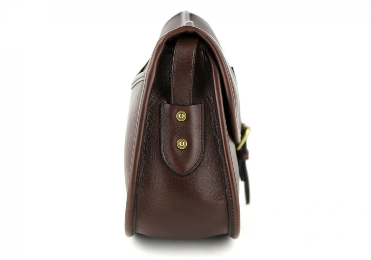 Chocolate Abby Shoulder Bag Frank Clegg Made In Usa 4