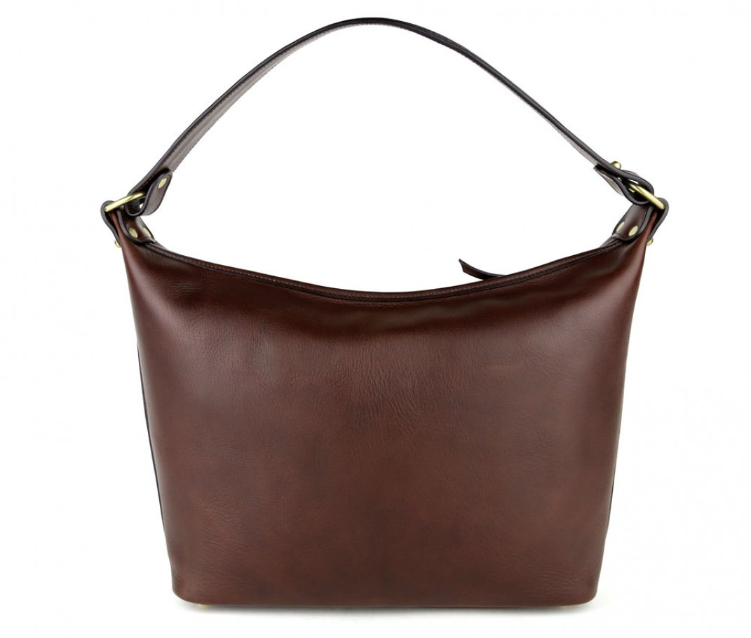Chocolate Daisy Shoulder Bag Frank Clegg Made In Usa 1