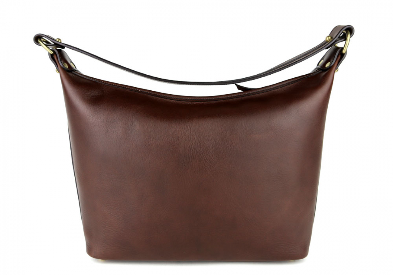 Chocolate Daisy Shoulder Bag Frank Clegg Made In Usa 3