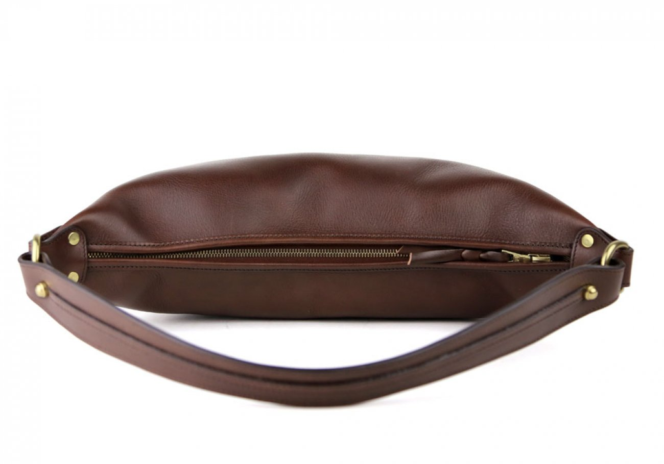 Chocolate Daisy Shoulder Bag Frank Clegg Made In Usa 6