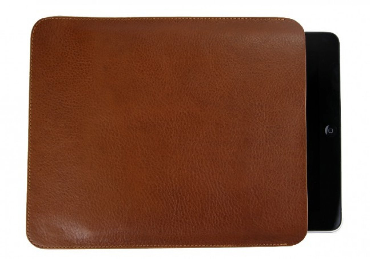 Cognac Ipad Sleeve