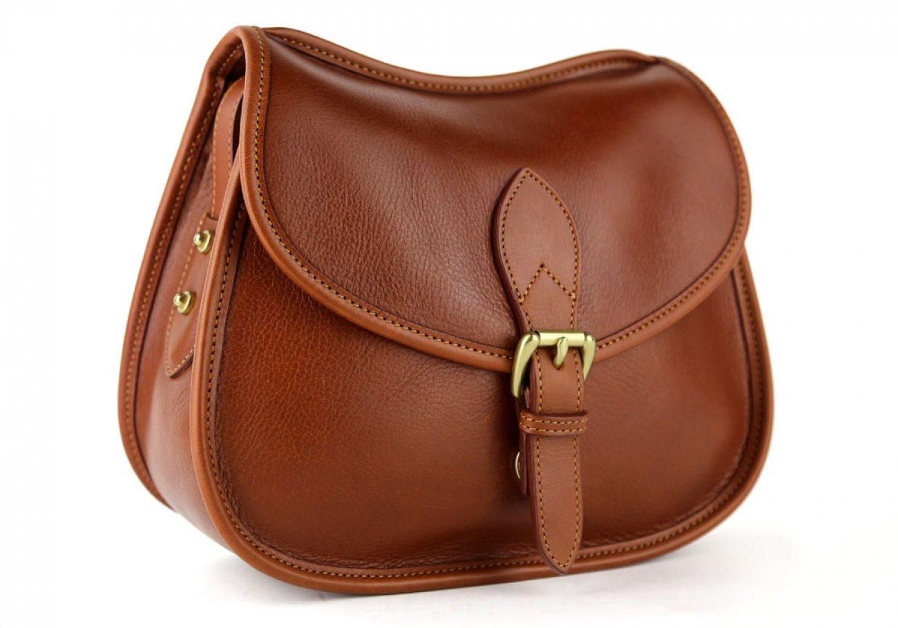 Cognac Abby Shoulder Bag Frank Clegg Made In Usa 2