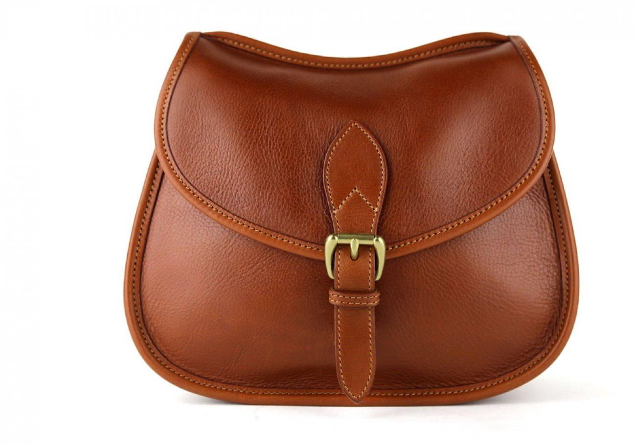 Cognac Abby Shoulder Bag Frank Clegg Made In Usa 3