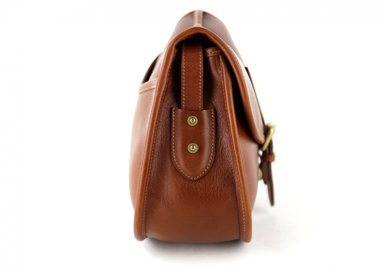 Cognac Abby Shoulder Bag Frank Clegg Made In Usa 4