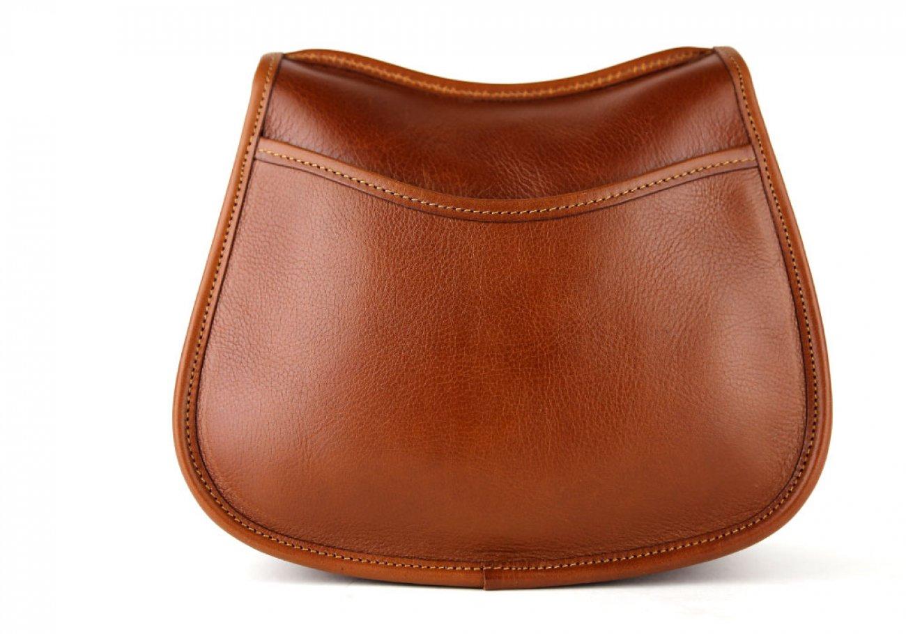 Cognac Abby Shoulder Bag Frank Clegg Made In Usa 5