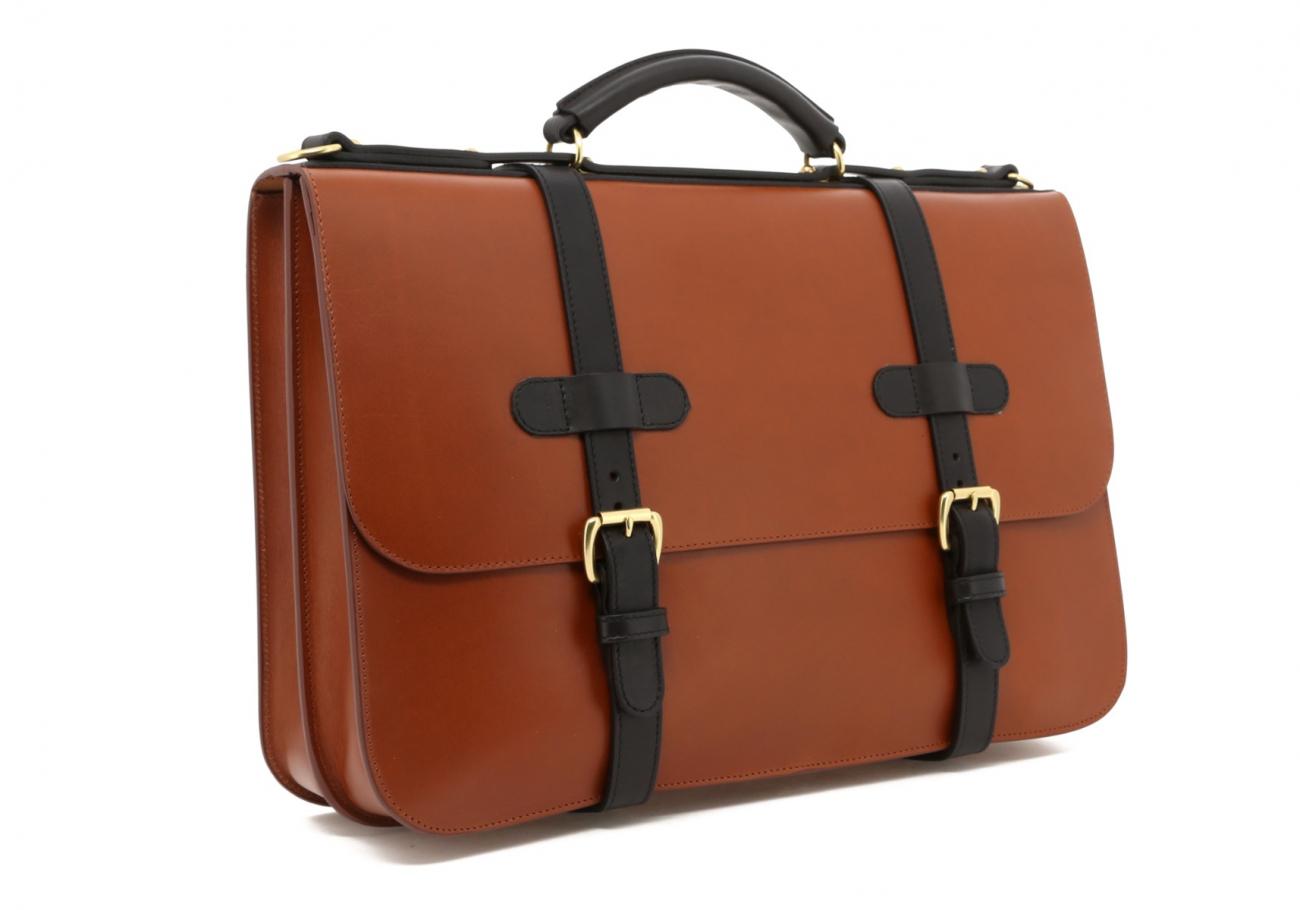 Cognac English Briefcase C