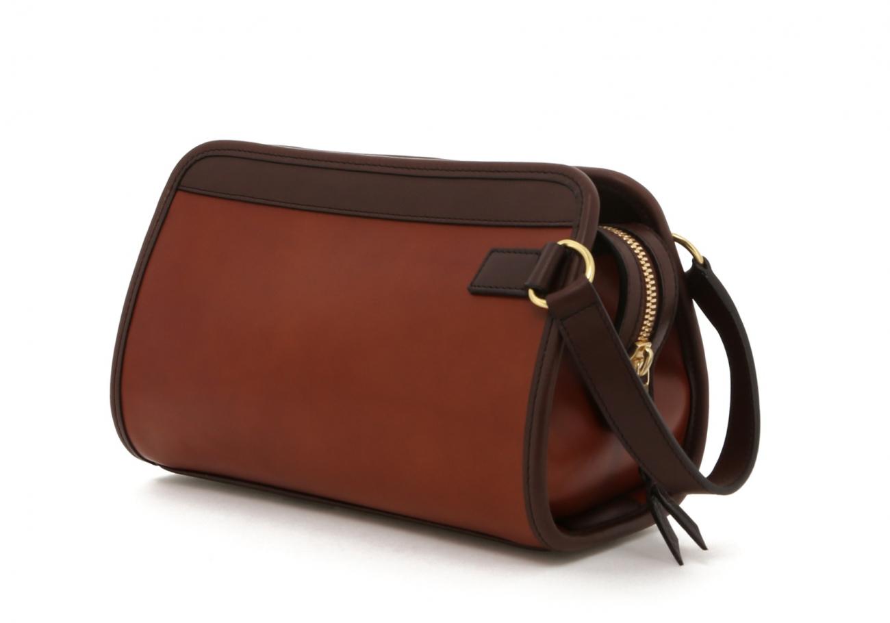Cognac Harness Belting Travel Kit C