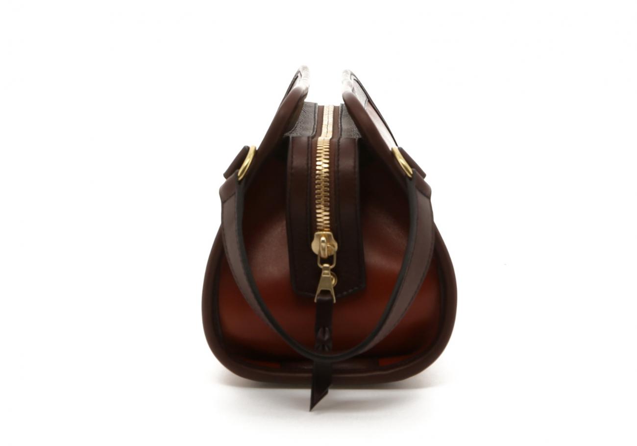 Cognac Harness Belting Travel Kit D