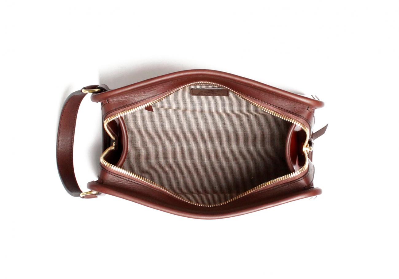 Cognac Harness Belting Travel Kit E