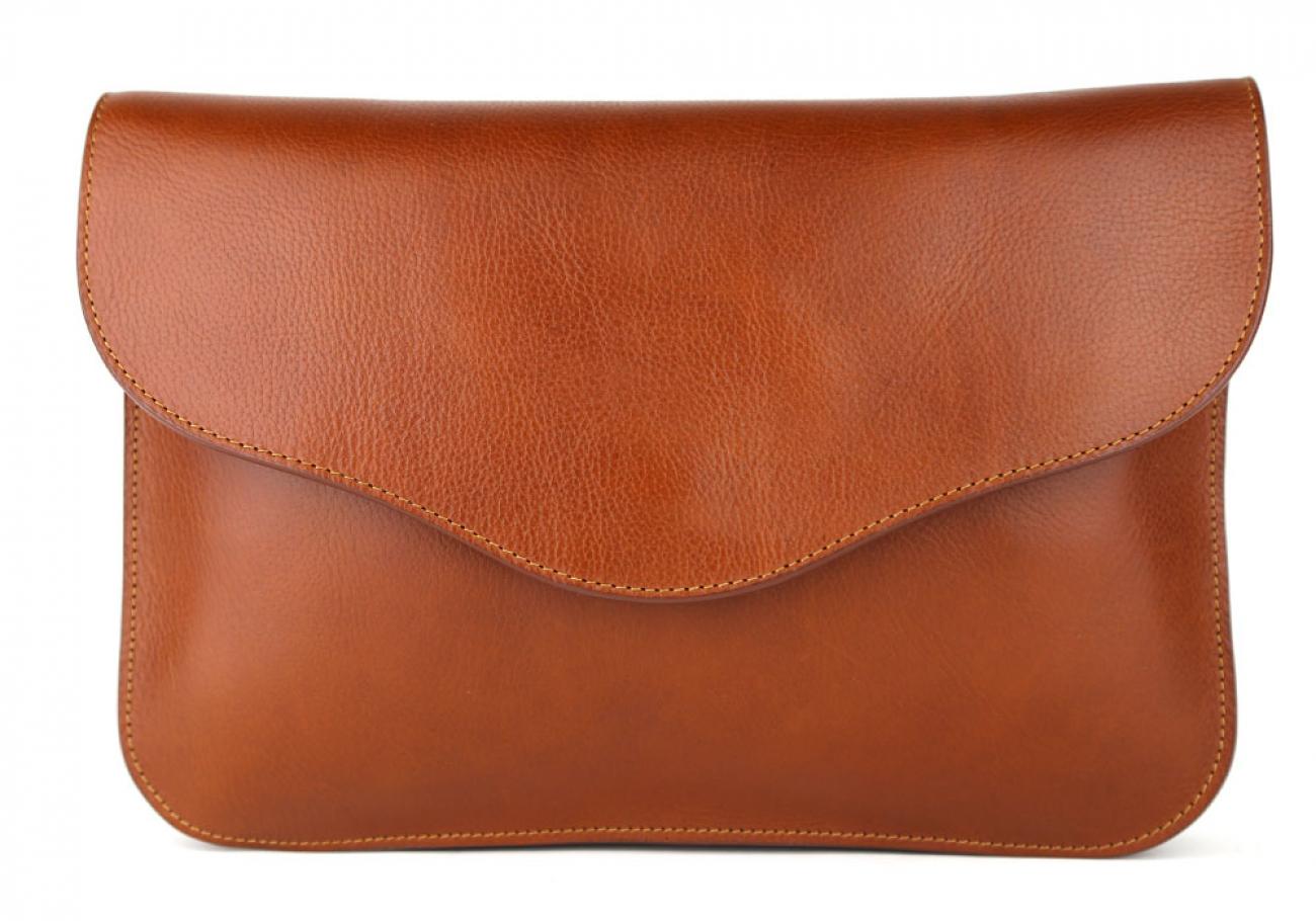 Cognac Maddie Shoulder Bag Frank Clegg Made In Usa 3