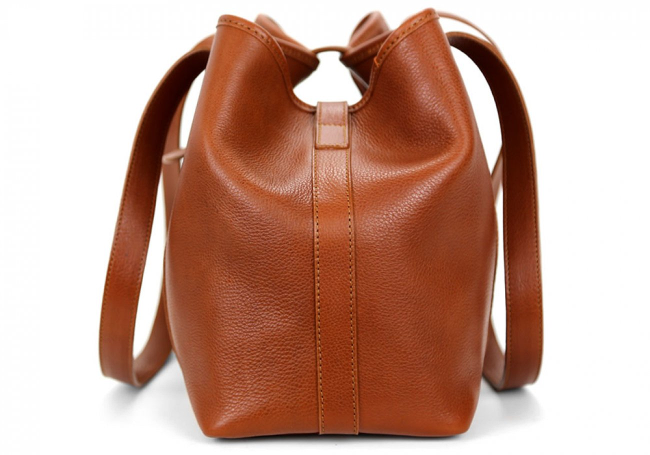 Cognacs Leather Md Handbag Tote Frank Clegg Made In Usa 3