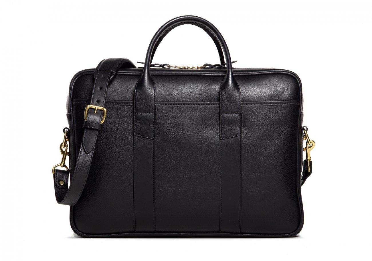 Commuter Briefcase Leather Black4