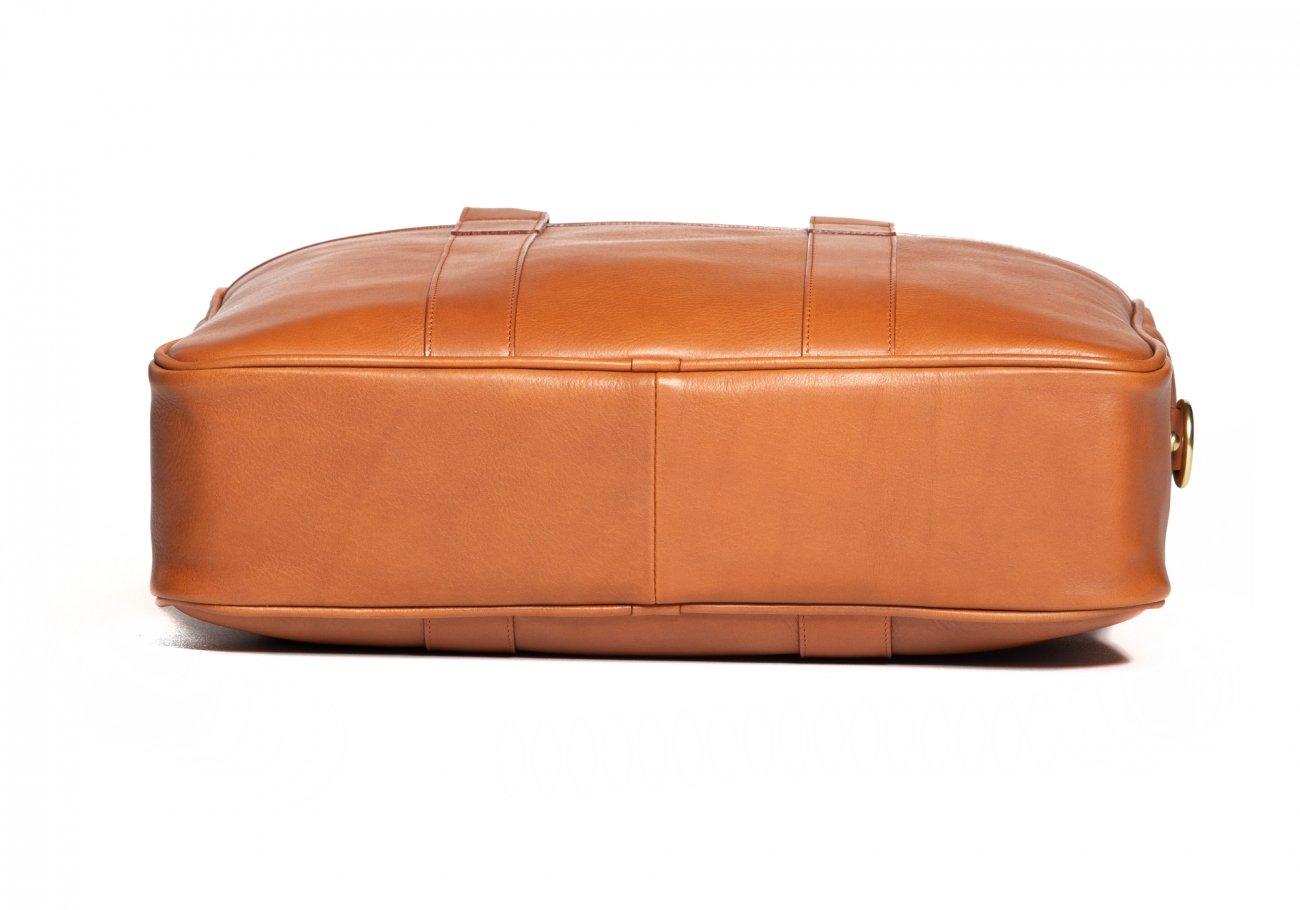Commuter Briefcase Leather Cognac10