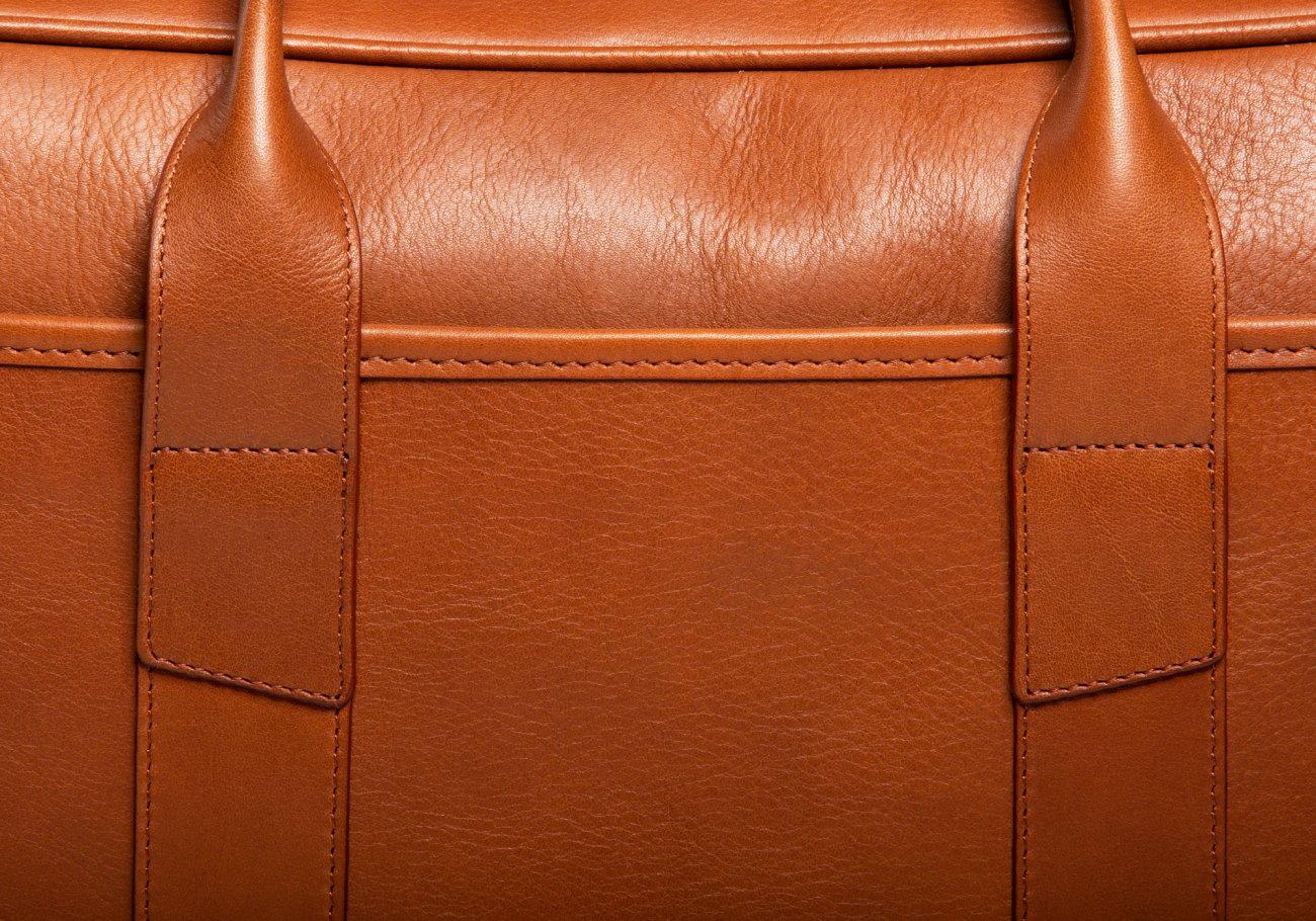 Commuter Briefcase Leather Cognac8