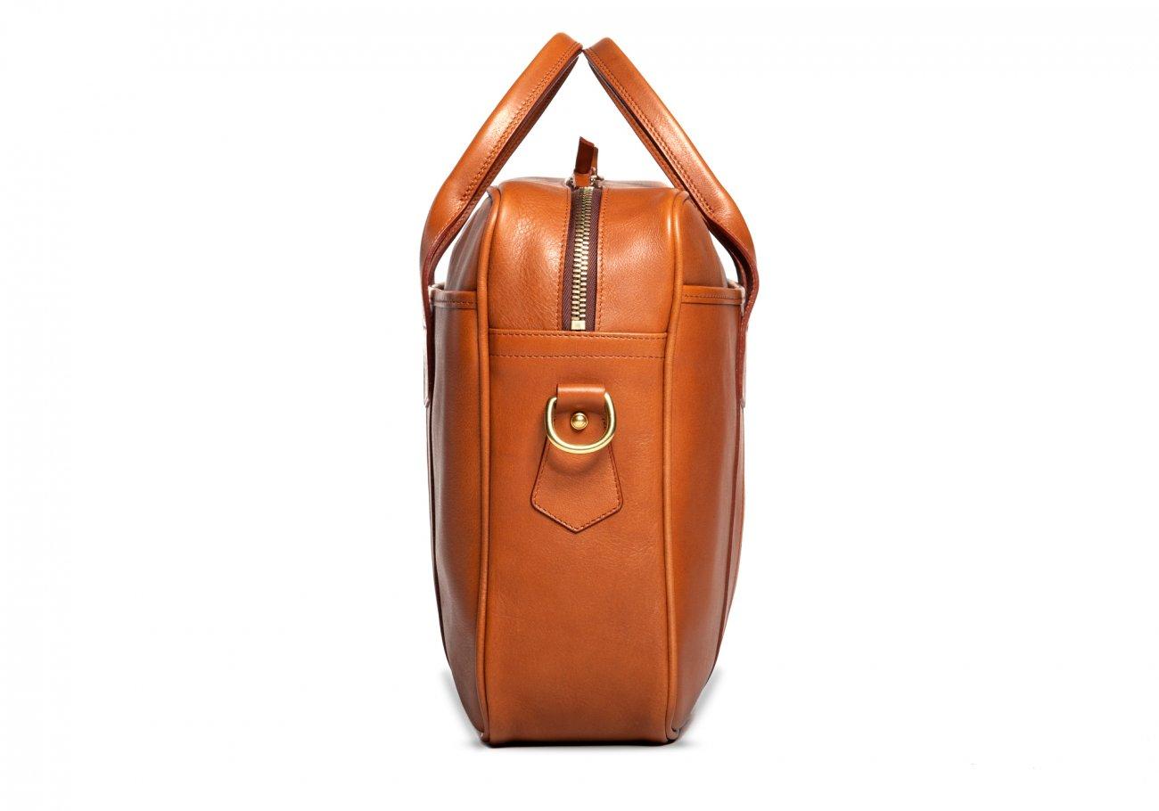 Commuter Briefcase Leather Cognac9