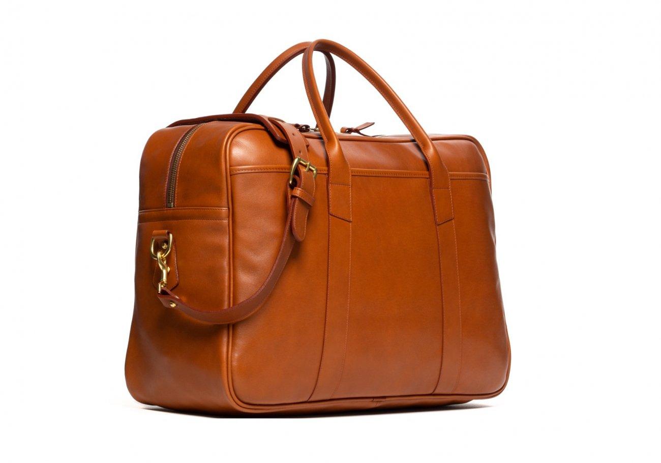 Commuter Duffle Bag Cognac1 1