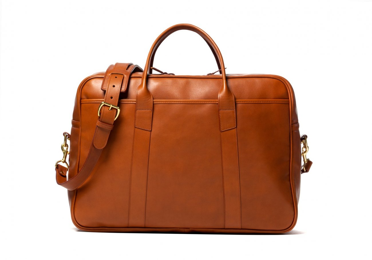 Commuter Duffle Bag Cognac4 1