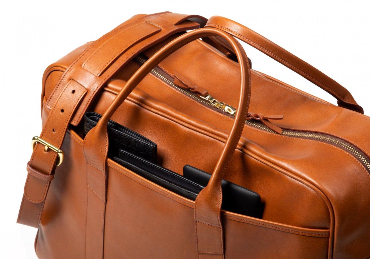 Commuter Duffle Bag Cognac8 1