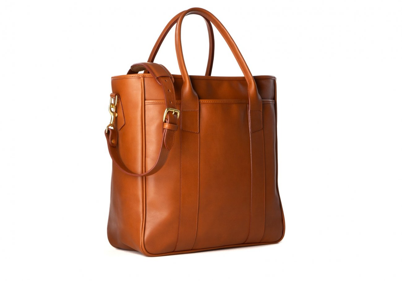Commuter Tote Bag Cognac1 1 1