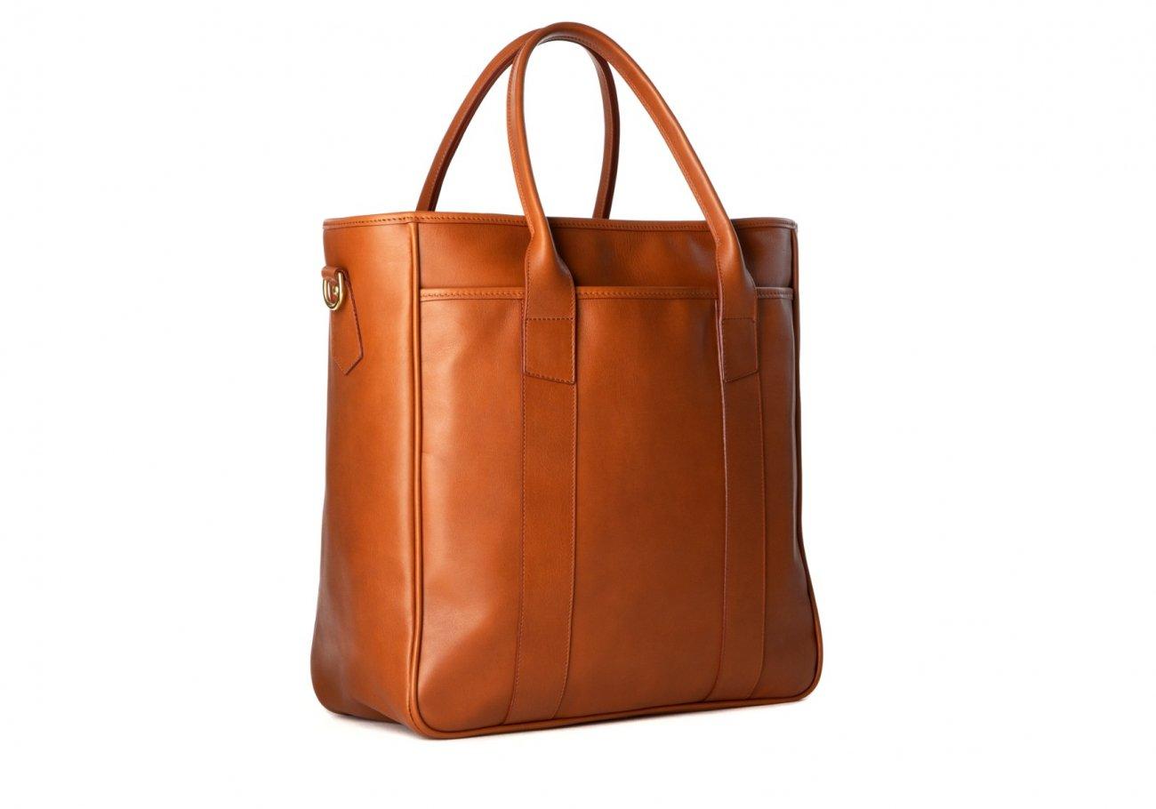 Commuter Tote Bag Cognac2 1 1