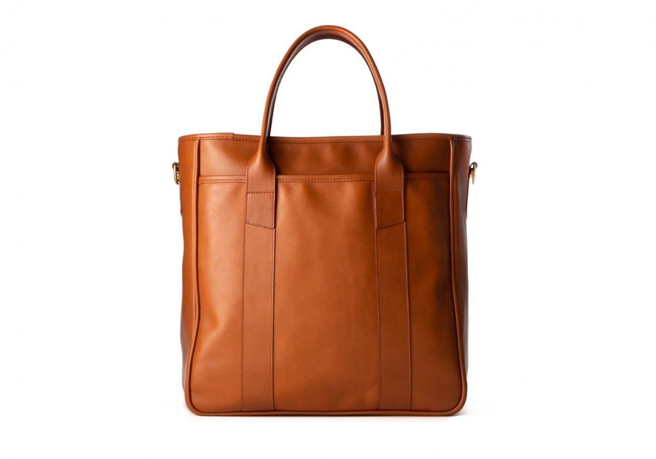 Commuter Tote Bag Cognac3 1 1