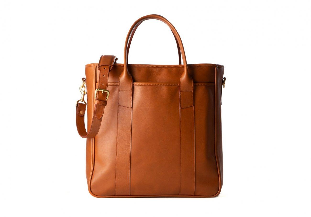 Commuter Tote Bag Cognac5 1 1