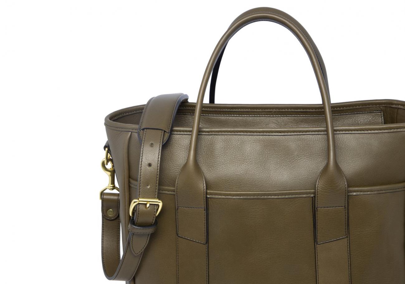 Commuter Tote Bag Olive 3