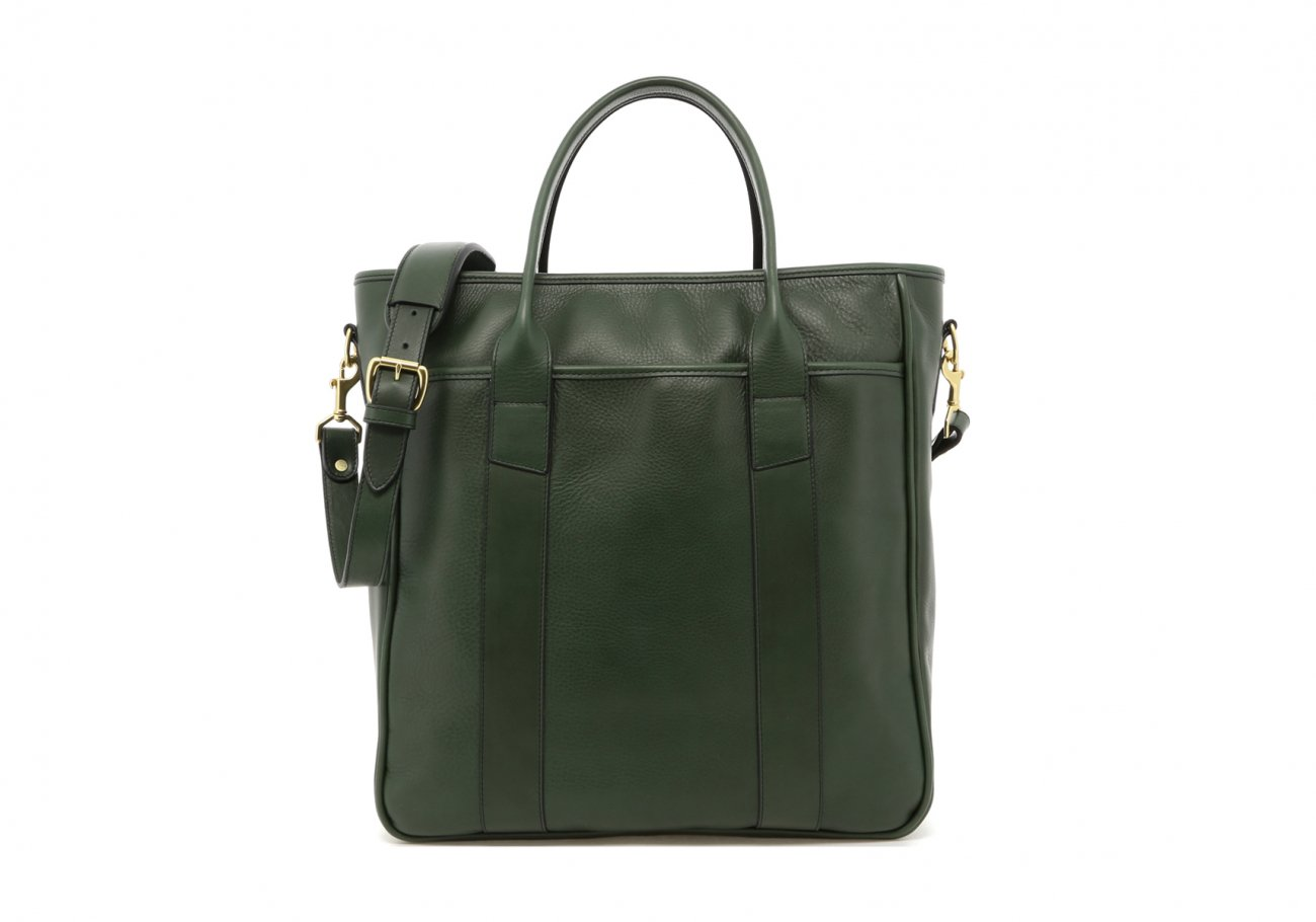 Commuter Tote New Green Frank Clegg