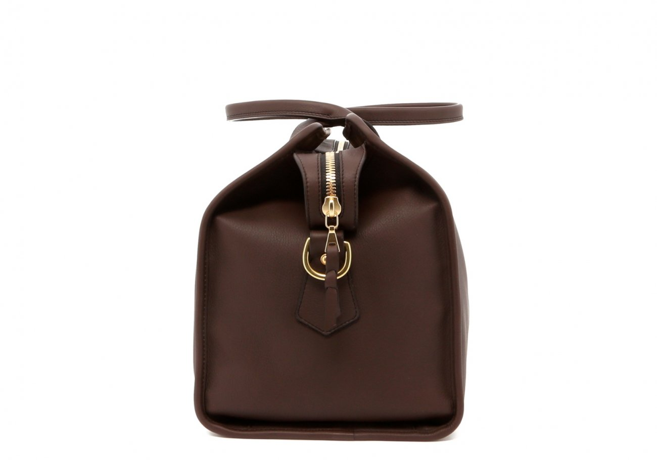 Dark Taupe Small Duffle D