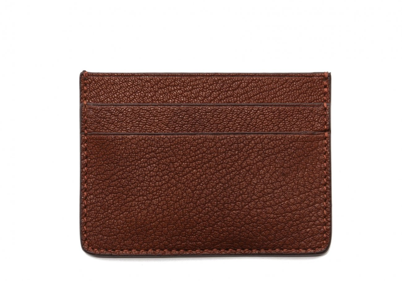 Double Card Wallet Antique Goatskin1