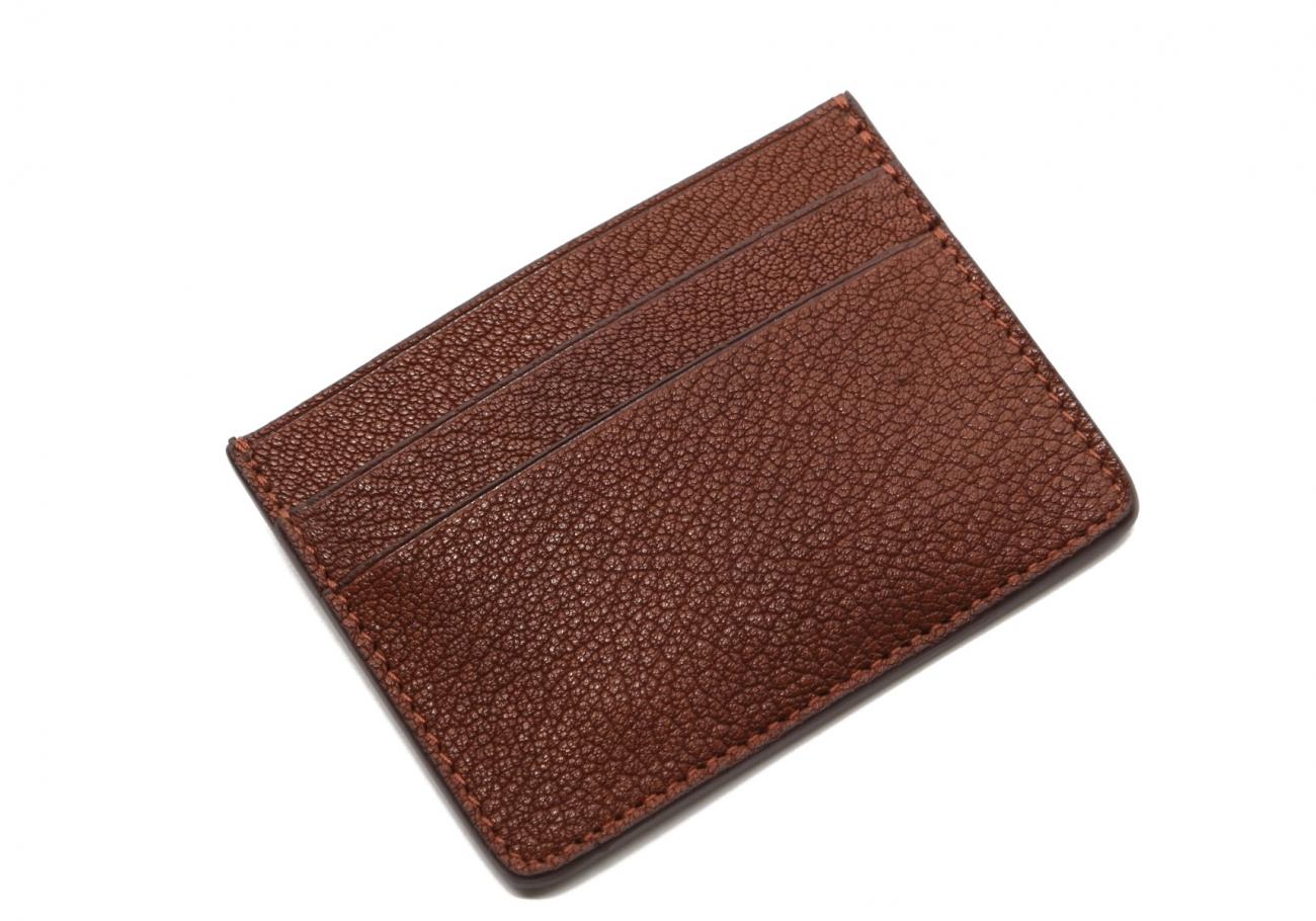 Double Card Wallet Antique Goatskin2