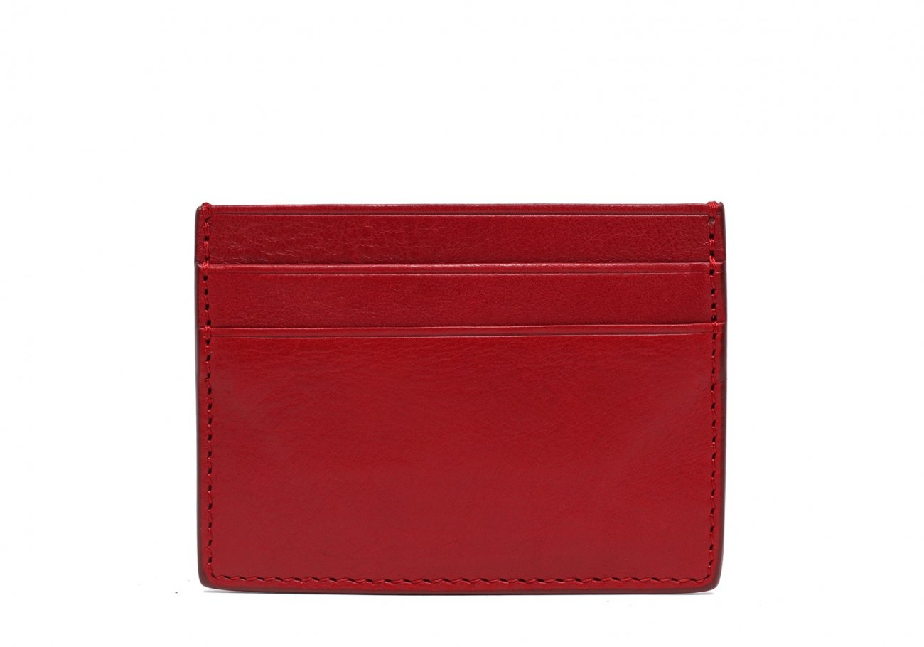Double Mini Card Wallet Red 1